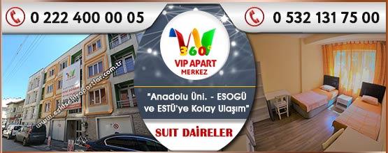 360 Vip Apart Merkez Eskişehir