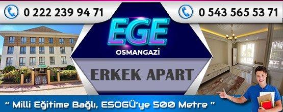 Ege Erkek Apart Osmangazi Eskişehir
